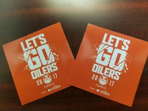 Oilers Stickers