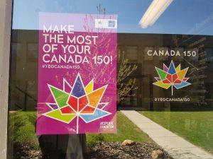 Canada 150 Stickers