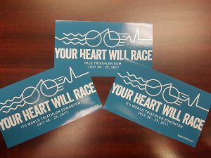 Triathalon Stickers