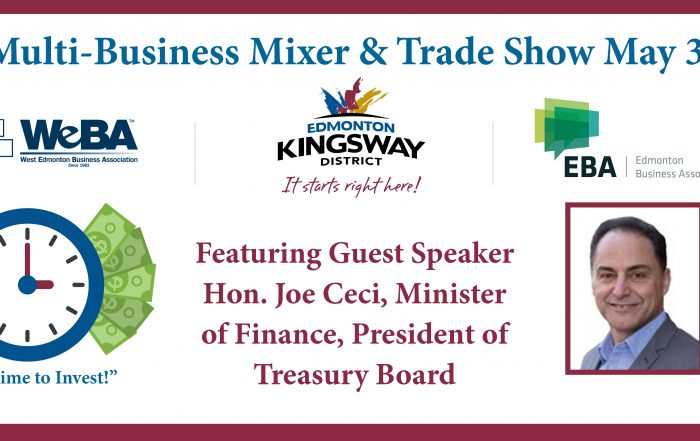 Edmonton Business Mixer and Trade Show Kingsway