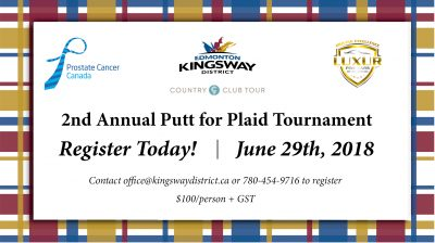 Putt for Plaid Golf Tournament