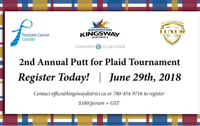 Putt for Plaid Golf Tournament